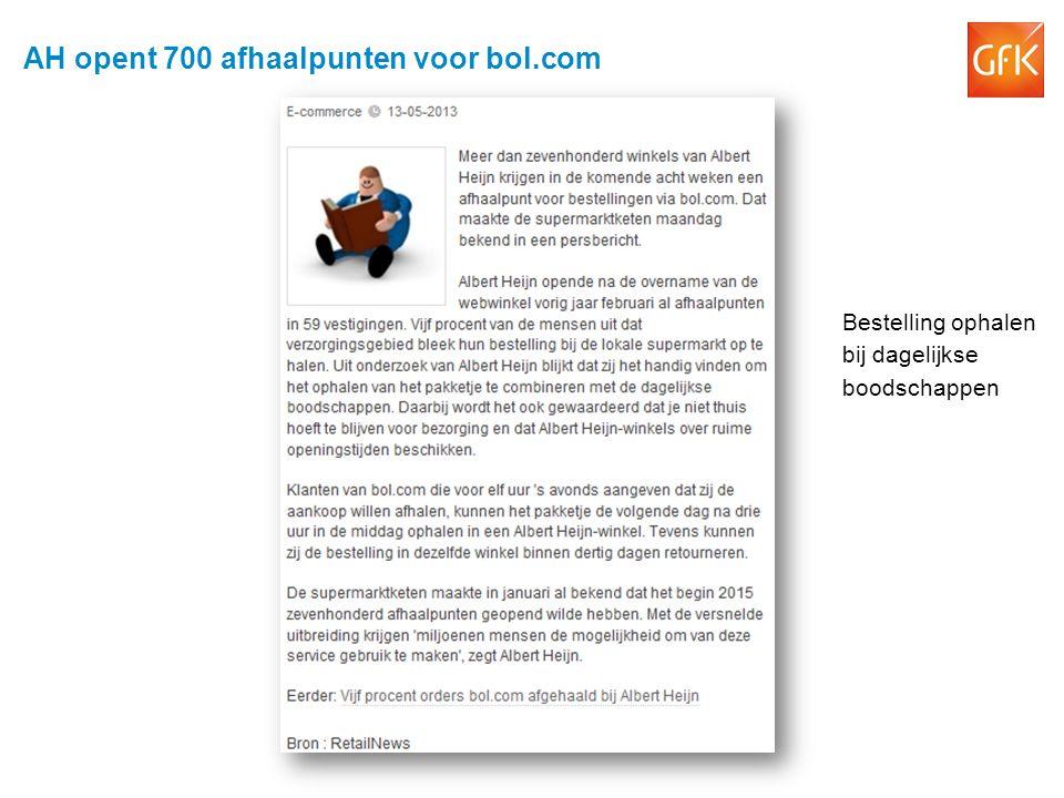 AH opent 700 afhaalpunten voor bol.com