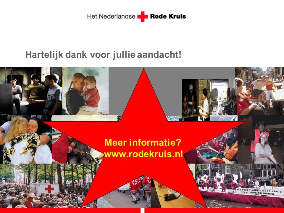 Meer informatie www.rodekruis.nl