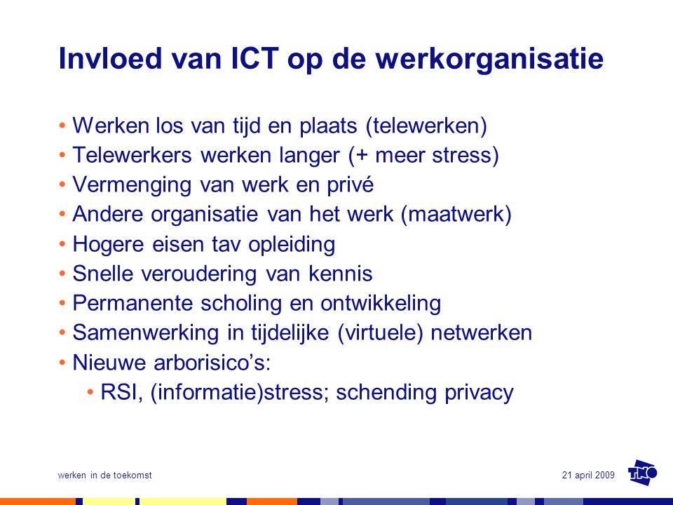 Invloed van ICT op de werkorganisatie