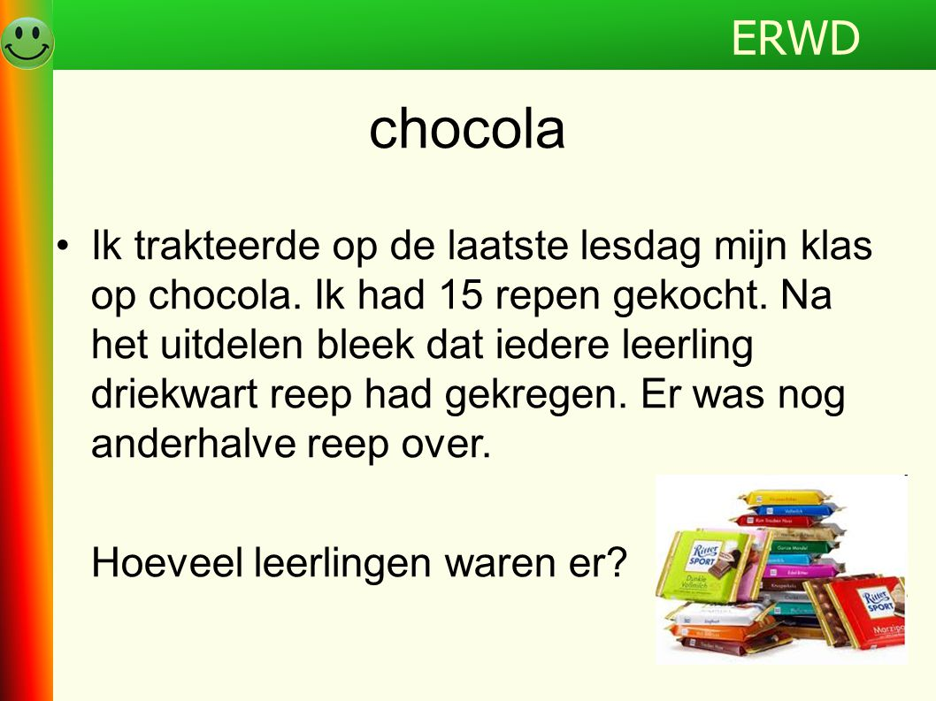 ERWD chocola.