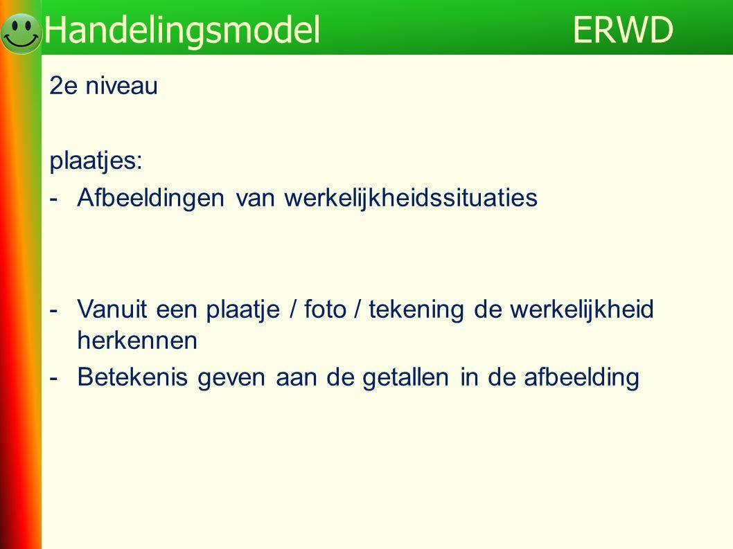 ERWD Handelingsmodel 2e niveau plaatjes: