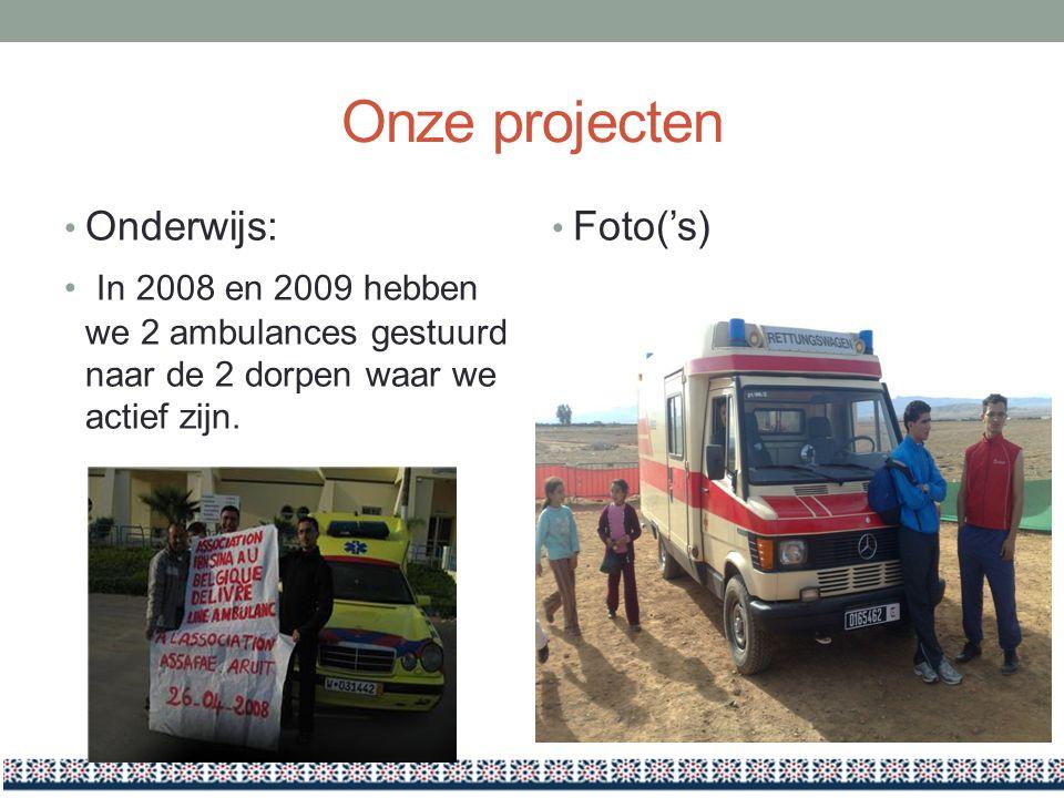 Onze projecten Onderwijs: