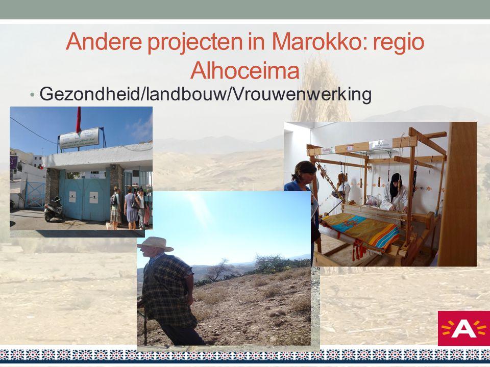 Andere projecten in Marokko: regio Alhoceima