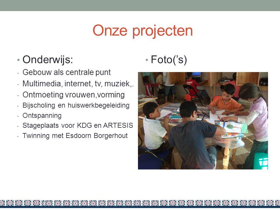 Onze projecten Onderwijs: Foto('s) Gebouw als centrale punt