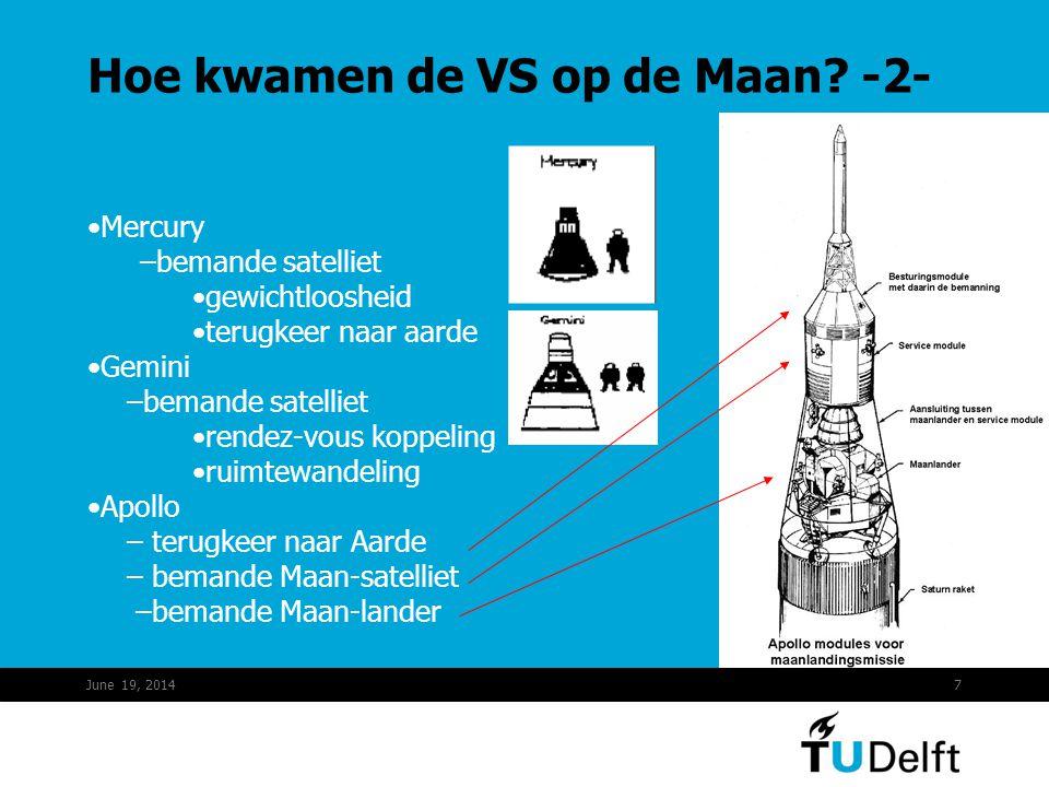 Hoe kwamen de VS op de Maan -2-