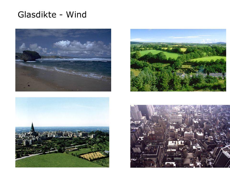 Glasdikte - Wind