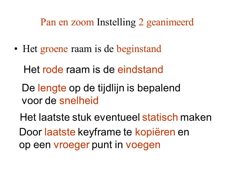 Pan en zoom Instelling 2 geanimeerd