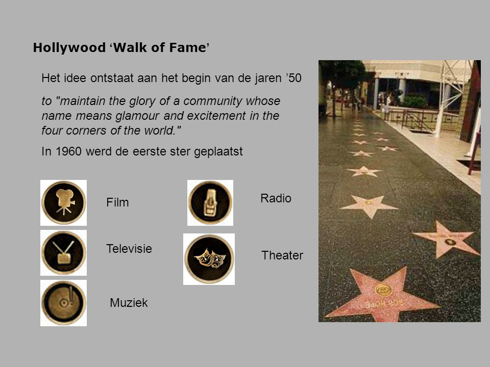 Hollywood 'Walk of Fame'