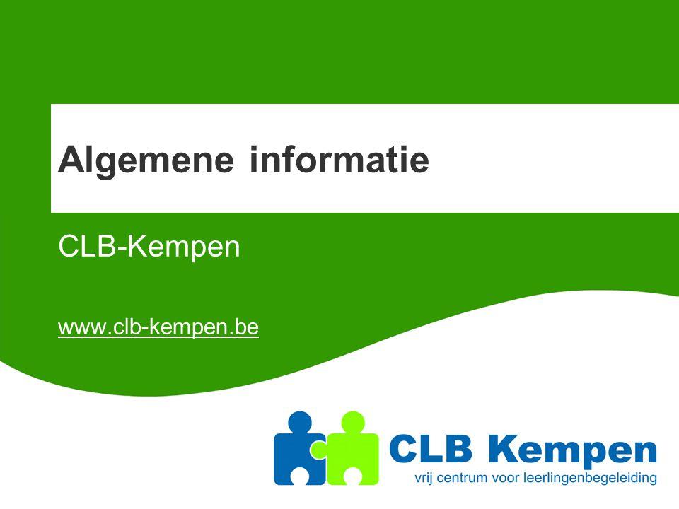 CLB-Kempen www.clb-kempen.be