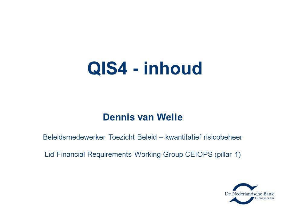 QIS4 - inhoud