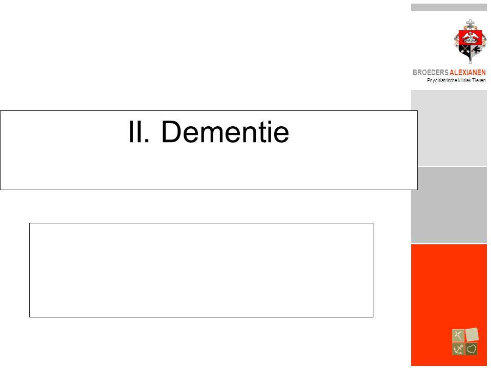 II. Dementie