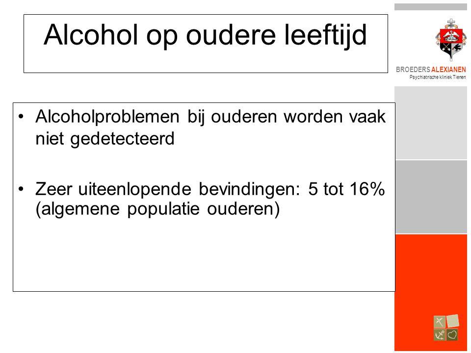 Alcohol op oudere leeftijd