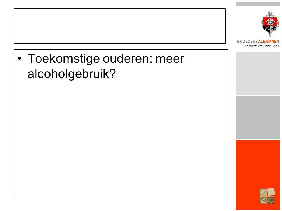 Toekomstige ouderen: meer alcoholgebruik