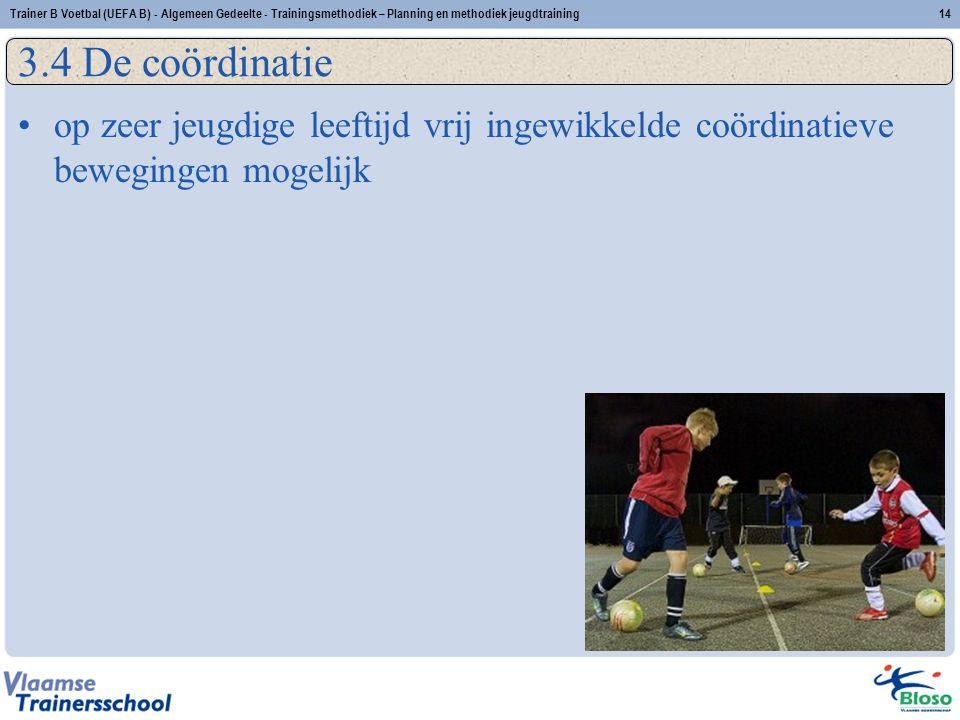 Trainer B Voetbal (UEFA B) - Algemeen Gedeelte - Trainingsmethodiek – Planning en methodiek jeugdtraining