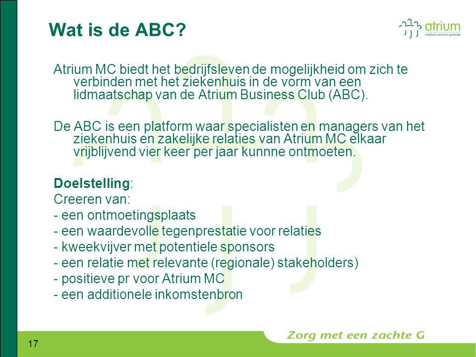 Wat is de ABC