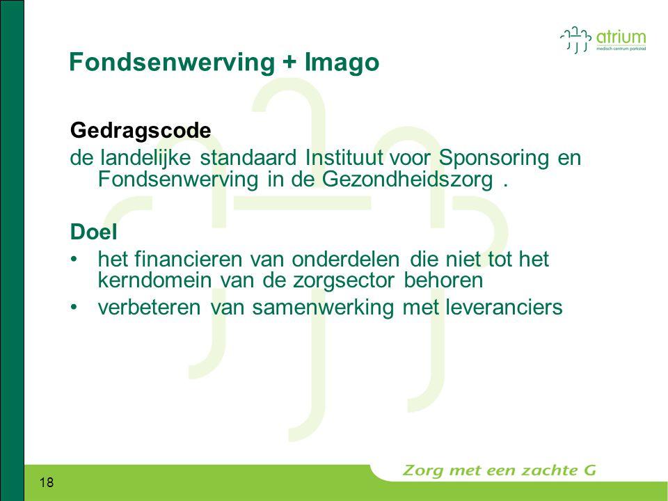 Fondsenwerving + Imago