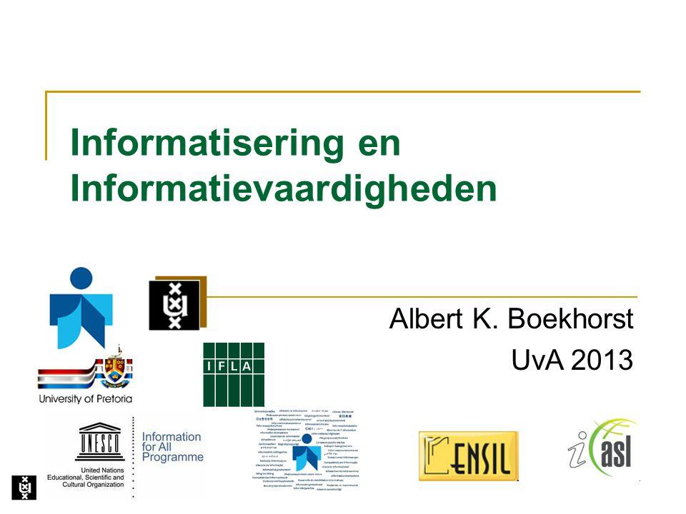 Informatisering en Informatievaardigheden