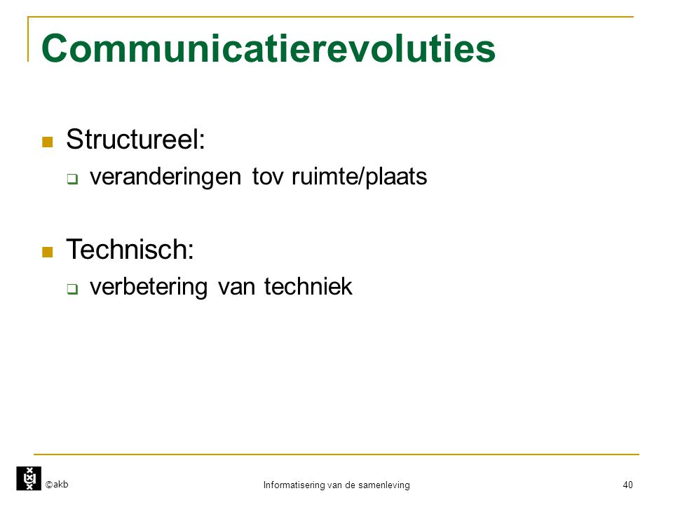 Communicatierevoluties