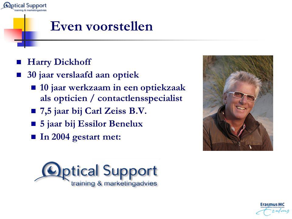 Even voorstellen Harry Dickhoff 30 jaar verslaafd aan optiek