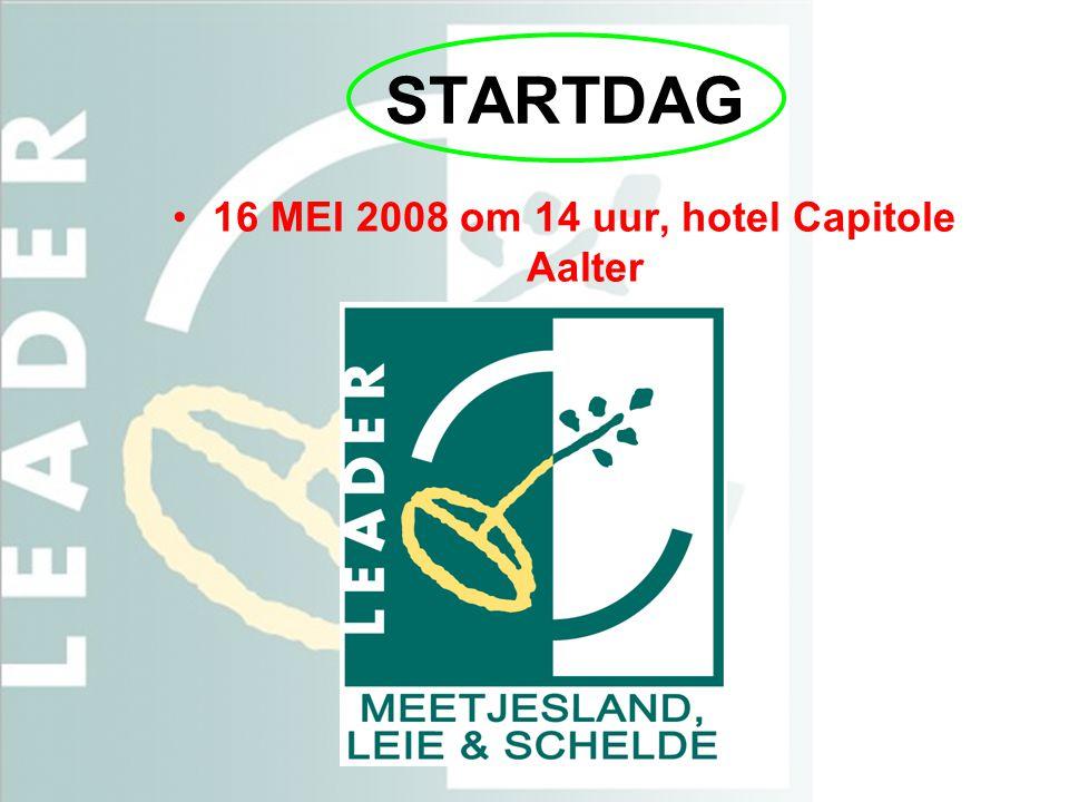 16 MEI 2008 om 14 uur, hotel Capitole Aalter