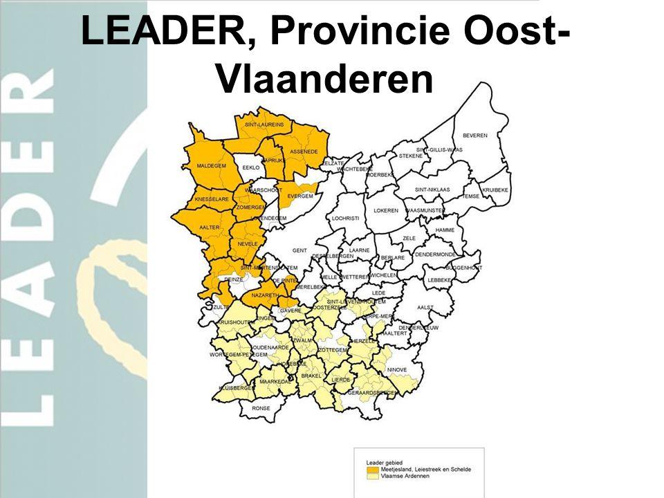 LEADER, Provincie Oost-Vlaanderen