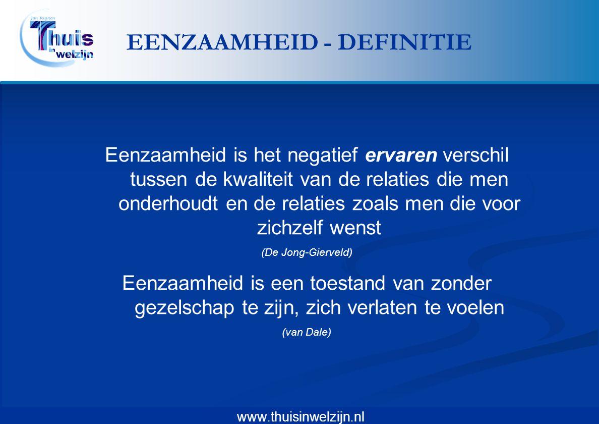 EENZAAMHEID - DEFINITIE