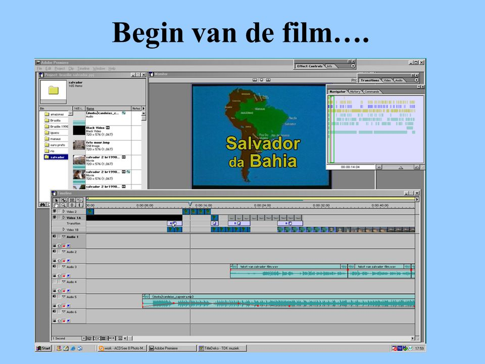 Begin van de film….