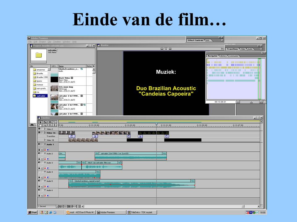 Einde van de film…
