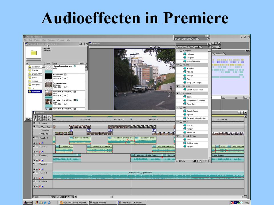 Audioeffecten in Premiere