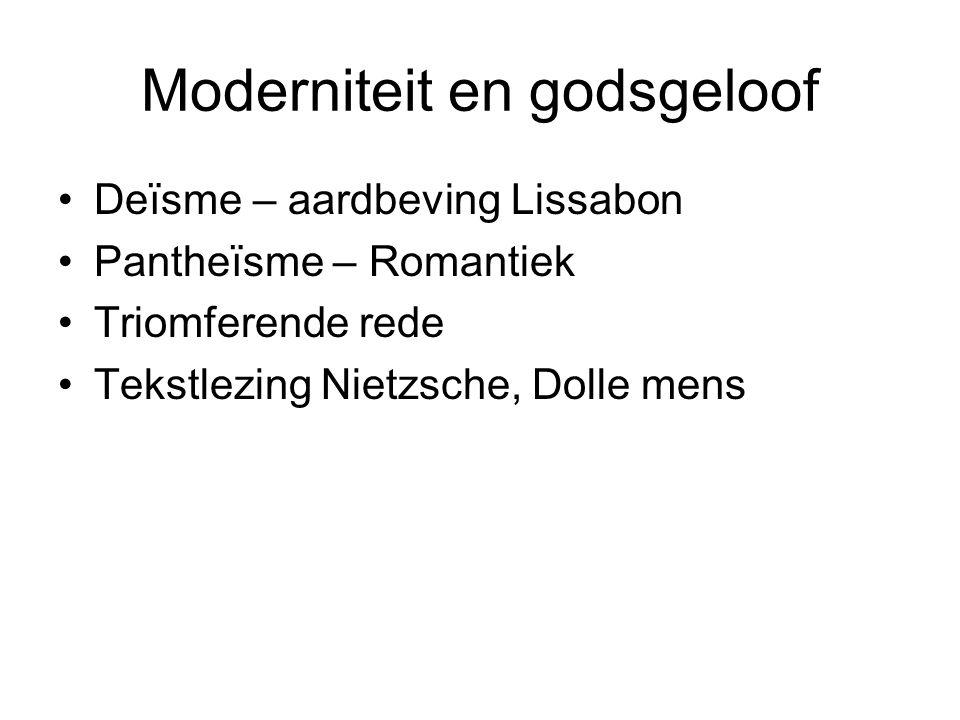 Moderniteit en godsgeloof