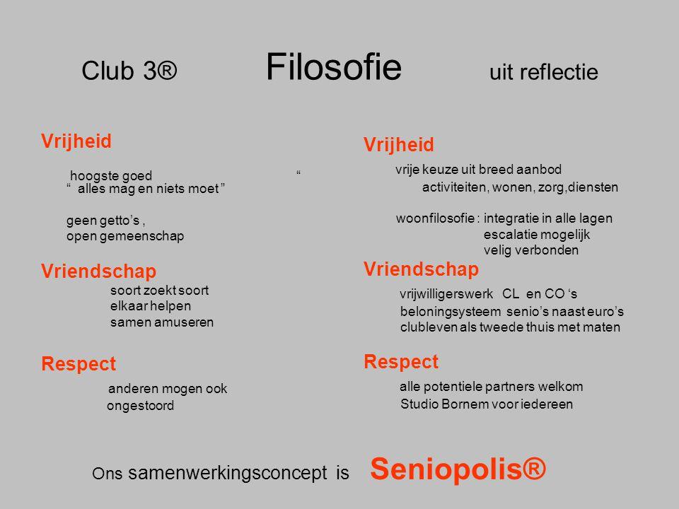 Club 3® Filosofie uit reflectie