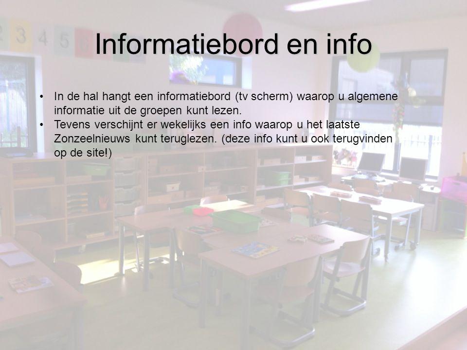 Informatiebord en info