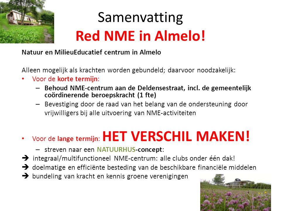 Samenvatting Red NME in Almelo!