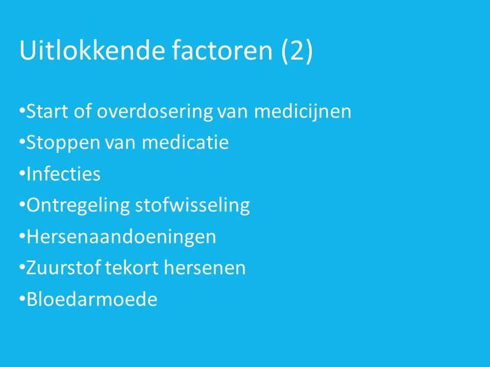Uitlokkende factoren (2)