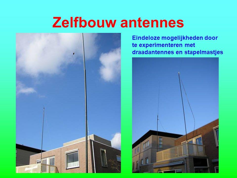 Zelfbouw antennes Eindeloze mogelijkheden door te experimenteren met