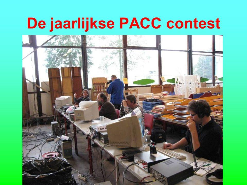 De jaarlijkse PACC contest