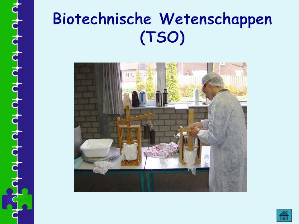 Biotechnische Wetenschappen (TSO)