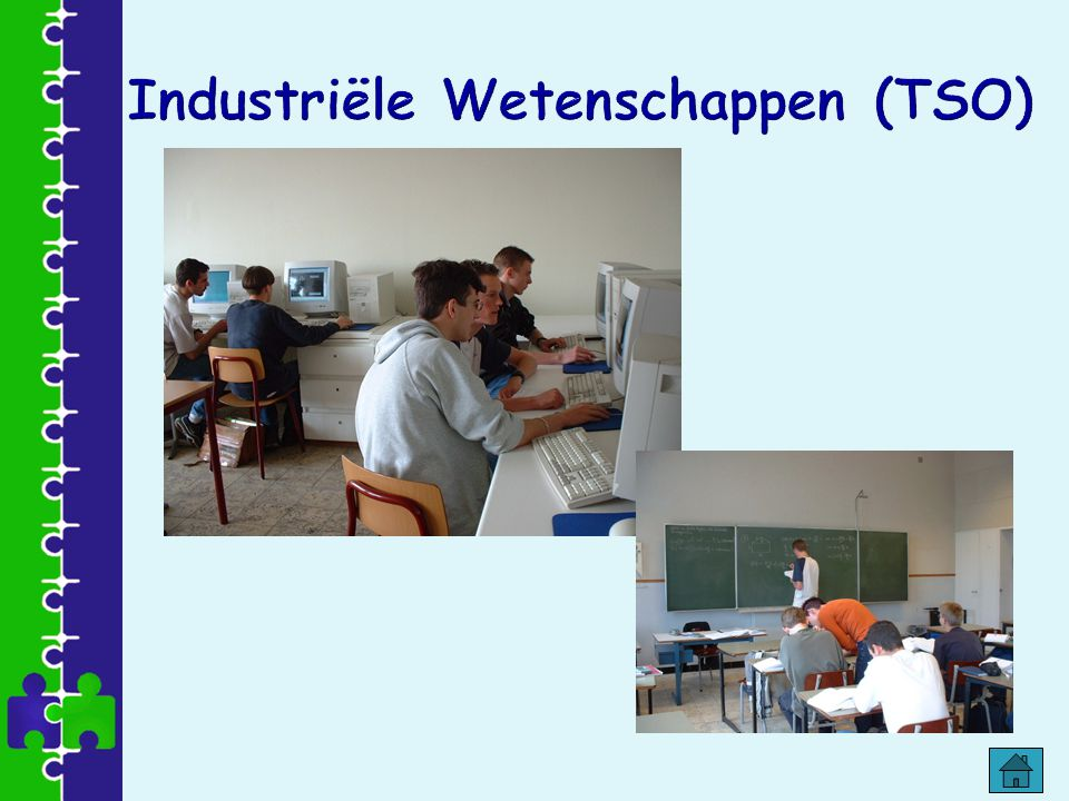 Industriële Wetenschappen (TSO)