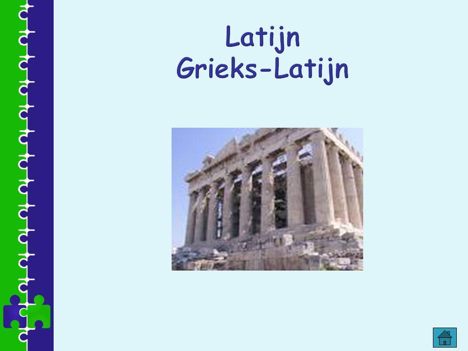 Latijn Grieks-Latijn