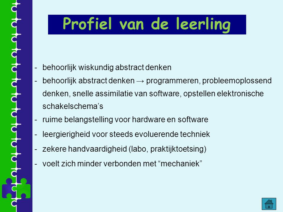 Profiel van de leerling