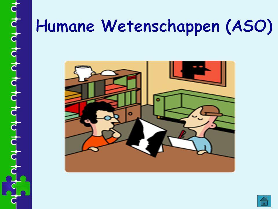 Humane Wetenschappen (ASO)