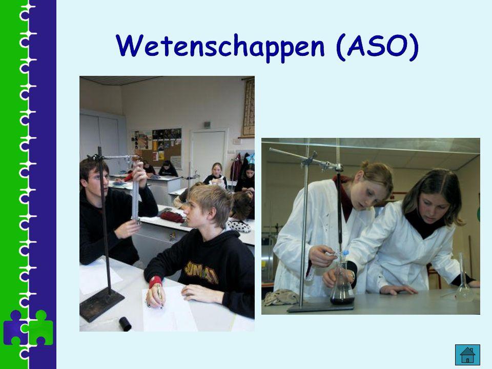 Wetenschappen (ASO)