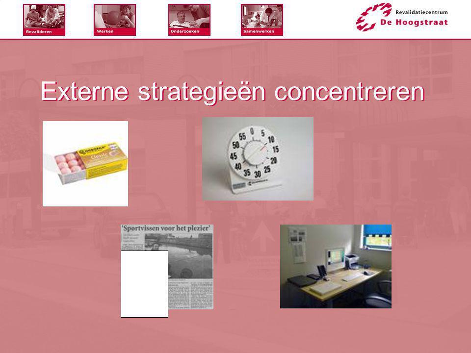 Externe strategieën concentreren