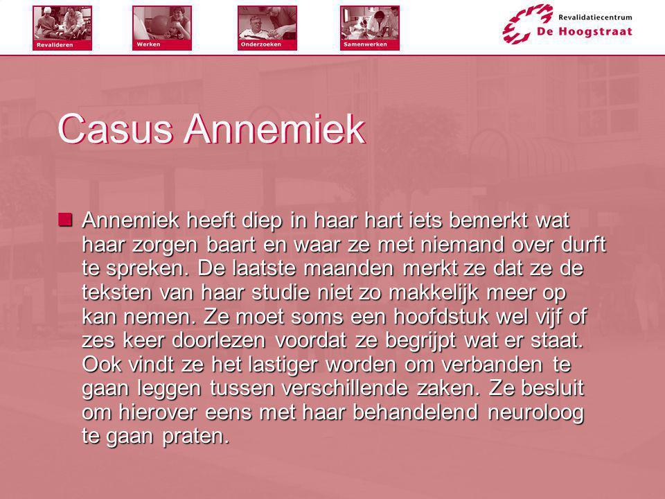 Casus Annemiek