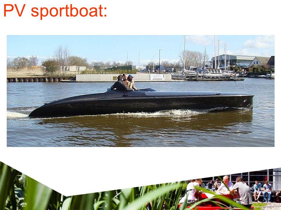 PV sportboat: