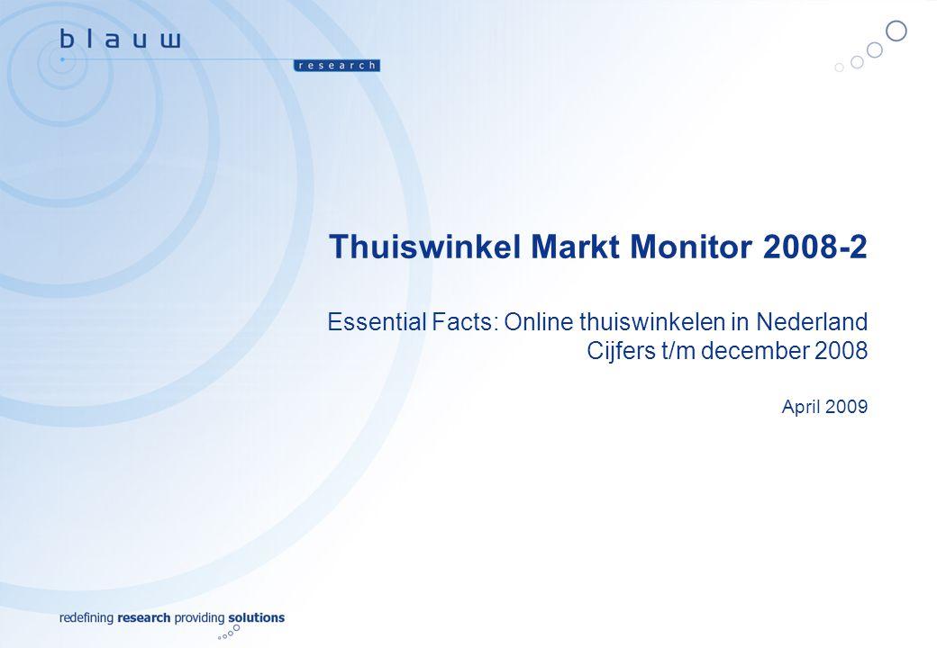 Thuiswinkel Markt Monitor 2008-2