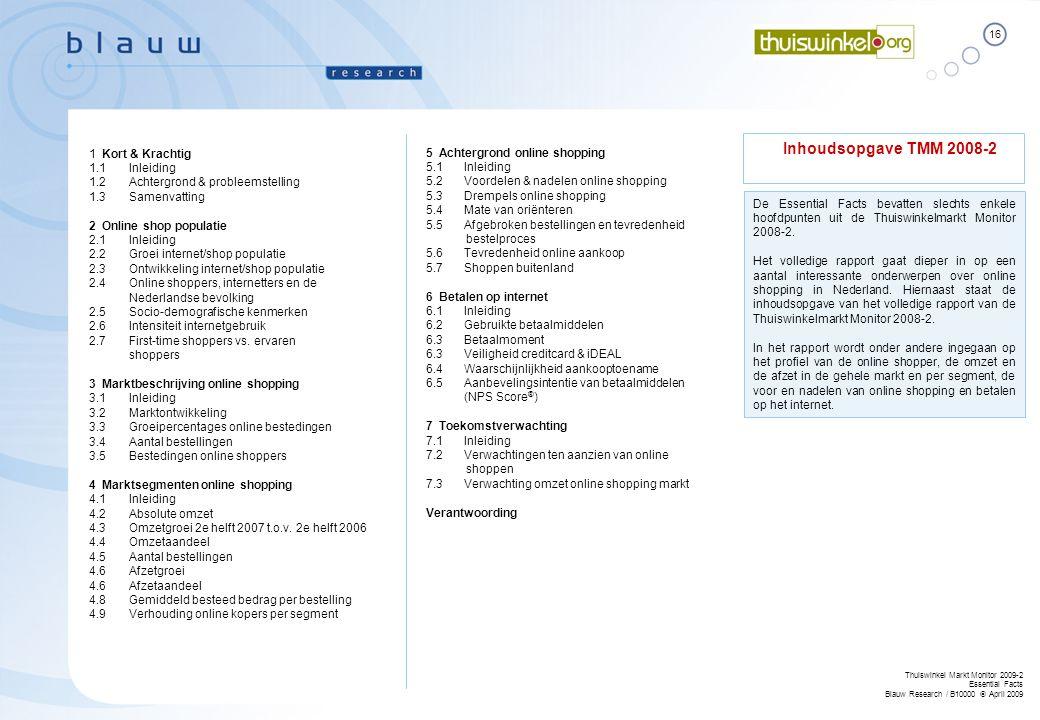Inhoudsopgave TMM 2008-2 1 Kort & Krachtig