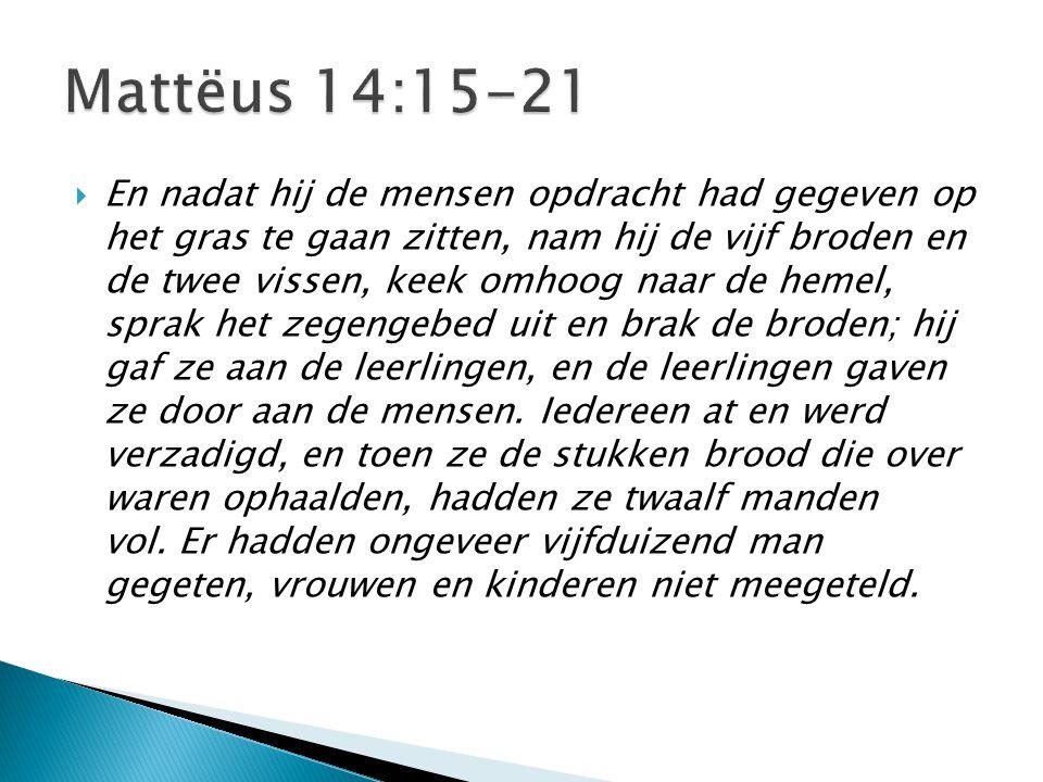 Mattëus 14:15-21