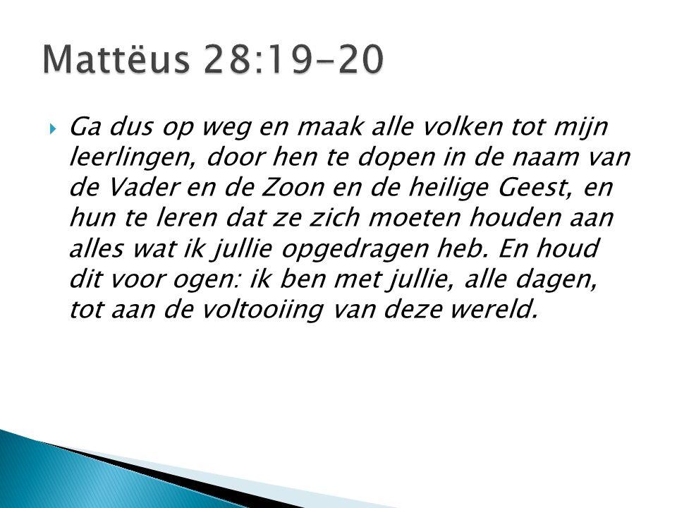 Mattëus 28:19-20