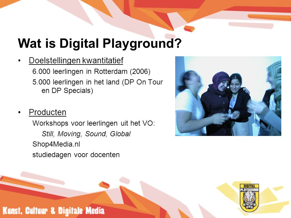 Wat is Digital Playground